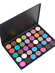 35D Professional Eyes Makeup Palette Eyeshadow Easy to Wear Silky Pigmented Colored Shimmery Cosmetic Kit