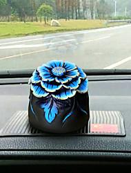 cheap -DIY Automotive  Ornaments  Hibiscus Ms Car Pendant & Ornaments PVC