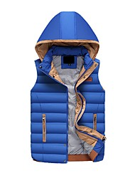 cheap -Men's Down - Solid Colored Hooded