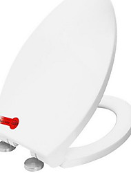 Toilet Seat Fits Most ToiletsThickerSoft Close Quick installation Stainless steel disc mounting