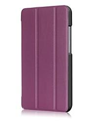 abordables -Caja de cuero de la PU del patrón del color sólido con el soporte para el zenpad c 7.0 z171kg del asus 7.0 PC de la tableta de la pulgada