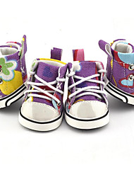 Dog Shoes & Boots Casual/Daily Sports Floral/Botanical For Pets