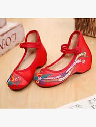 Mädchen Schuhe Stoff Sommer Komfort Sandalen Für Normal Pfirsich Rot Grün