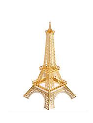 Недорогие -Пазлы Металлические пазлы Башня Знаменитое здание 3D Своими руками Медь Железо Металл Универсальные Подарок
