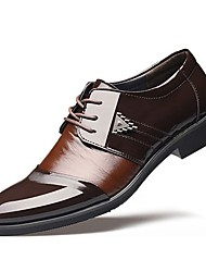 cheap -Men's Shoes TPU Winter Fall Formal Shoes Oxfords for Wedding Office & Career Dress Black Brown