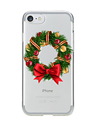 cheap -Case For IPhone 7 6 Christmas TPU Soft Ultra-thin Back Cover Case Cover iPhone 7 PLUS 6 6s Plus SE 5s 5 5C 4S 4