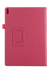 cheap -For Case Cover with Stand Flip Full Body Case Solid Color Soft PU Leather for Lenovo Tab4 10'' X304/X704 F/N