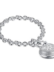 Femme Chaînes & Bracelets Charmes pour Bracelets Zircon cubique Basique Le style mignon Fait à la main Gothique Bijoux initial Bijoux de