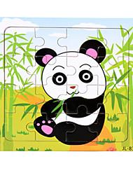 baratos -Quebra-Cabeça Quebra-Cabeças de Madeira Brinquedo Educativo Urso Animal marinho Panda Outra Animais Madeira Desenho Unisexo Dom