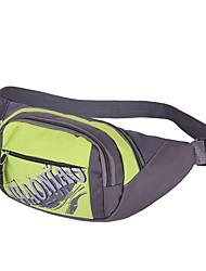Women Bags Summer Nylon Waist Bag for Outdoor Black Orange Red Blushing Pink Light Green