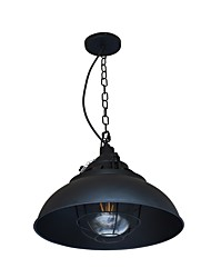 cheap -YY DT-31 Pendant Lamp Retro Iron Shape Hanging Light Loft Pendant Lamp Adjustable Cafe Light Fixture Chandelier