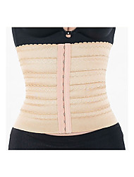 BONAS Solid Color Hot Body Shaper Slimming Women Corset Waist Trainer Cinchers Belt Spandex Corrective Underwear Slim Shapewear