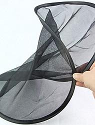 Круглая форма складная черная сетка заднего стекла солнцезащитный экран (2 шт.