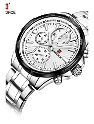 cheap -NAVIFORCE Men's Dress Watch Fashion Watch Japanese Quartz Water Resistant / Water Proof Stainless Steel Band Luxury Cool Silver