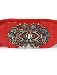 Women's Others Wide Belt,Art Deco/Retro