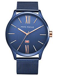 Недорогие -Муж. Уникальный творческий часы Наручные часы Модные часы Спортивные часы Повседневные часы Кварцевый Горячая распродажа Нержавеющая сталь