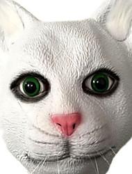 abordables -Masques d'Halloween Masque d'Animal Jouets Soirée Chat La colle Horreur Pièces Unisexe Cadeau
