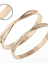 cheap -Titanium bracelet Korea fashion jewelry gift on Valentine's day HTBR-0409