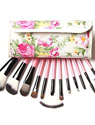 12 pcs Makeup Brushes Professional Synthetic Cosmetic Makeup Brush Foundation Eyeshadow Eyeliner Brushing Brush Kits