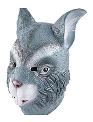 cheap -Halloween Masks Animal Mask Toys Rabbit Latex Rubber Glue Horror Pieces Unisex Gift