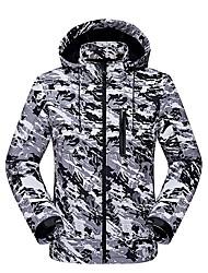 cheap -LEIBINDI Men's Women's Hiking Softshell Jacket Outdoor Winter Keep Warm Thermal / Warm Breathable Wearproof Jacket Top Running/Jogging