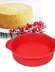 cheap -Cake Molds Circular Everyday Use Silica Gel Baking Tool