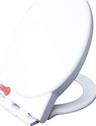 Compressive muteSoft CloseThicker Soft CloseToilet Seat buffer Toilet Seat Fits Most Toilets Round