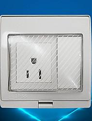 Недорогие -Электрические розетки PP С коммутатором 9*10*5