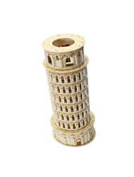 abordables -Puzzles 3D Kit de Maquette Tour Bâtiment Célèbre La tour penchée de Pise EPS + EPU Unisexe Cadeau