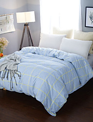 Plaid/Checkered Material 1pc Duvet Cover