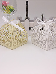 cheap -50pcs Lovely Birds Laser Cut Candy Box Birdcage Wedding Box