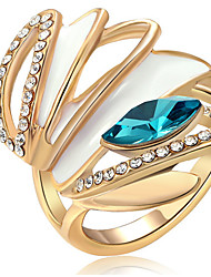 Couple Rings Band Rings Women's Fashion Luxury High-Grade Elegant Creative Rings Party Daily Wedding Gift Jewelry