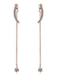 cheap -Women's Multi Layer Synthetic Diamond Rhinestone Drop Earrings - Heart / Multi Layer / Cute Style Gold Irregular Earrings For Christmas /