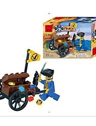 Blocs de Construction Voitures de jouet Jouets Automatique Pirate Pièces Cadeau