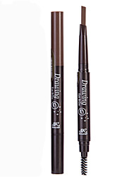 cheap -1Pcs Automatic Rotation With Eyebrow Pencil Eyebrow Brush Not Shading Waterproof Anti-Perspiration Double Eyebrow Pencil