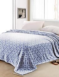 Недорогие -Супер мягкий Решетка Полиэфир одеяла