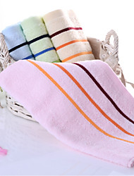 Недорогие -Полотенца для мытья,В полоску Высокое качество 100% хлопок Supima Полотенце