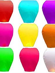 Недорогие -10pcs китайский желающий светильник kongming latern фестиваль