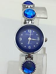 Жен. Детские Модные часы Часы-браслет Китайский Кварцевый сплав Группа Кулоны Блестящие На каждый день Жемчуг Серебристый металл
