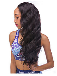 cheap -Human Hair Lace Front Wig Curly 130% Density Fine Writing 100% Hand Tied African American Wig Natural Hairline Can Be Used Wet & Dry High
