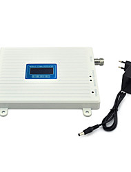 Mobile Phone 800mhz 850mhz Signal Booster CDMA Signal Repeater Amplifier with Power Supply LCD Display / White