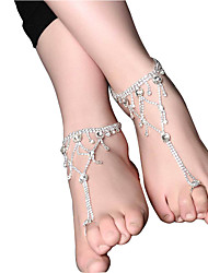 cheap -Women's Anklet/Bracelet Pink Pearl Floral Drop Jewelry For Wedding Engagement Going out Club Street