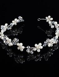 Imitation Pearl Headbands Headpiece Classical Feminine Style