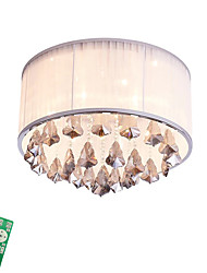 cheap -Flush Mount Ambient Light - Bulb Included, LED Chic & Modern, 220-240V, Dimmable With Remote Control, Bulb Included