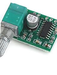 Placa de amplificador pam8403 5v