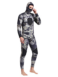 economico -SBART Per uomo 5mm Muta intera Tenere al caldo Comodo Neoprene Scafandro Manica lunga Scafandri - Immersioni Inverno Primavera Estate