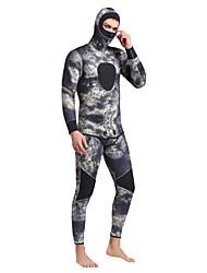 SBART Men's 5mm Full Wetsuit Thermal / Warm Comfortable Neoprene Diving Suit Long Sleeves Diving Suits-DivingSpring Summer Winter