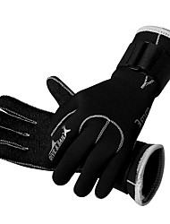 Diving Gloves Full-finger Gloves Unisex Keep Warm Quick Dry Wearable Breathable Wearproof Protective 3mm Anti-skiddingSki & Snowboard