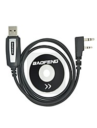 cheap -Professional USB Programming Cable with CD Baofeng UV-5R UV-5RA UV-B5 UV-82 BF-888S BF-666S for Portable Radio