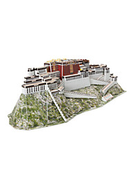Puzzles 3D Puzzle Jouets Bâtiment Célèbre Architecture Chinoise Architecture 3D Articles d'ameublement Non spécifié Pièces